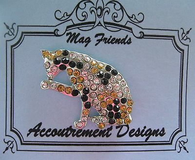 Accoutrement Designs Calico Cat Needle Minder Magnet
