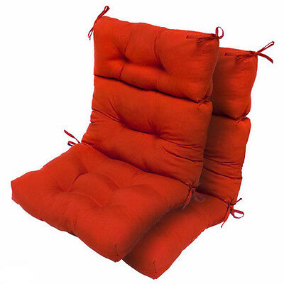 Patio Chair Cushions Replacement High Back For Chairs Outdoor Lawn Garden Swing