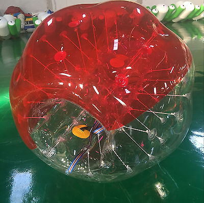2Pcs 1.5M Body Inflatable Bubble Bumper Zorb Ball W/ Repair Kit Activity Sealed