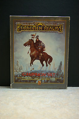 1987 Advanced Dungeons And Dragons 'forgotten Realms' 'campaign Set' Tsr 1031