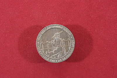 $5 Casino Gaming Token Savannah Lady, Savannah Ga. Day Cruise Rare Exc.
