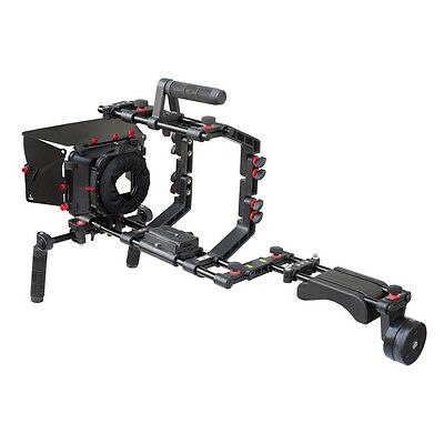 Best Selling! Filmcity Shoulder Rig camera video cage matte box Free shipping