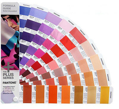 NEW - Pantone ®2016 GP1601N Plus Series - Formula Guide Solid Uncoated Book Only