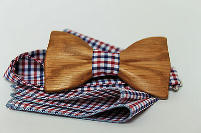 Wooden handmade bow tie, Unique and exclusive bowtie from Wood. Precious woods