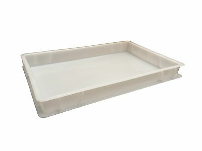 Plastic Stacking Food Grade Pizza Dough Bakery Euro Trays - Commercial Quality!