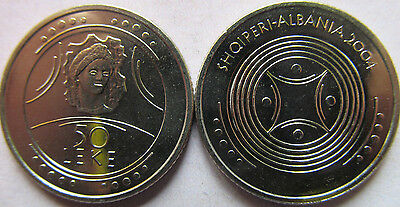 """Albania 50 lek 2004 """"The Beauty of Durres"""" UNC KM# 90"""