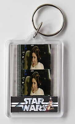 Star Wars Film Cell 35mm - Key Ring - Princess Leia - Carrie Fisher