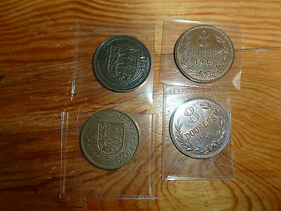 4 collectible coins 1923 1934 1945 1945