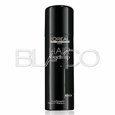 Loreal Hair Touch Up Ritocco Radici -Black- Spray 75Ml Capelli