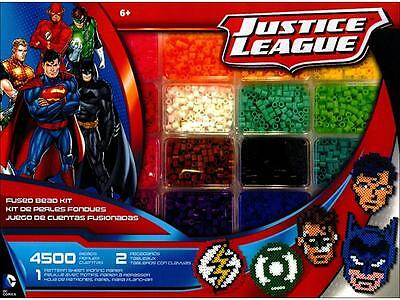 Perler Fused Bead Kit Deluxe Box Justice League
