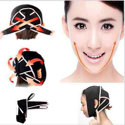 Wrinkle V Face Anti-Wrinkle Cheek 3D Chin Up Lift Strap Band Slim Sagg mask