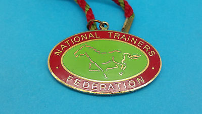 Horse Racing - National Trainers Federation Badge - 2003