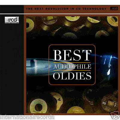"""""""Best Audiophile Oldies"""" Premium Records JVC Made in Japan XRCD XRCD2 CD New CD"""