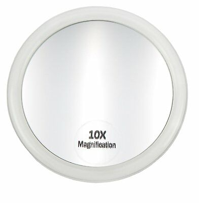 Fantasia Acrylic Mirror with Suction Cup and 10x Magnification 10 cm
