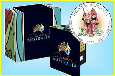 Platinum 1/10oz. Colored Proof 2007 Sturt's Desert Pea.