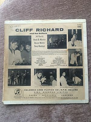 Signed Cliff Richard And The Drifters LP