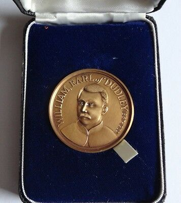 Baggeridge Colliery Bronze Commemorative Medal  Earl Of Dudley 1896 - 1967 Boxed