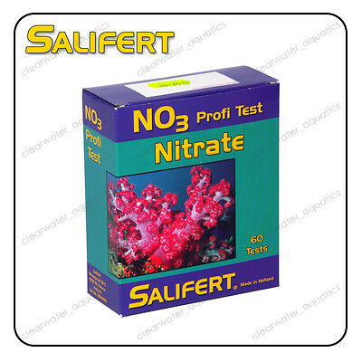 SALIFERT NITRATE NO3 Profi TEST KIT Marine Reef FISH TANK Water Testing Aquarium