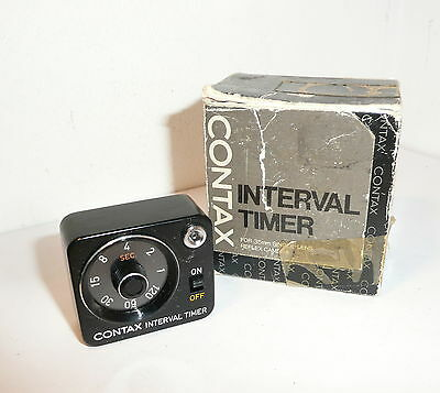 RARE CONTAX INTERVAL TIMER , BOXED & WORKING , for YASHIA & CONTAX FR RTS WINDER