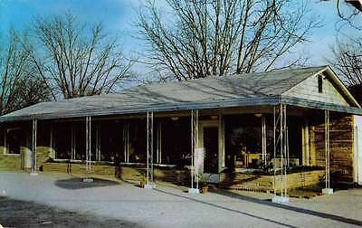 Turbeville South Carolina Shady Park Restaurant Vintage Postcard K49620