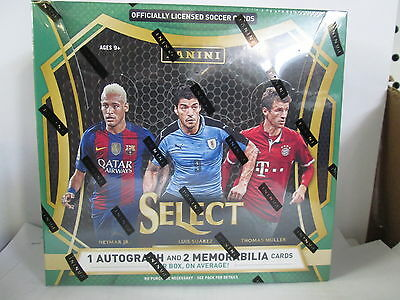 2016 Panini Select Soccer Hobby Sealed Box  ( New )