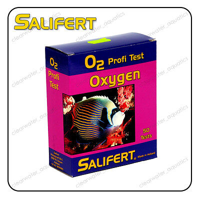 SALIFERT OXYGEN O2 Profi TEST KIT Marine Reef FISH TANK Water Testing Aquarium