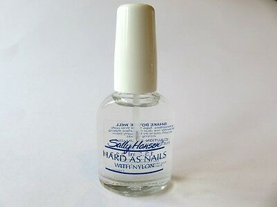 6 X Sally Hansen Hard As Nails Clear - #1 Choice For Fly Tying - £9.60 - Yes 6 !