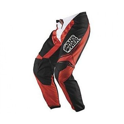 Pantalone Moto Cross Answer Syncron Rosso Enduro Quad 38/54