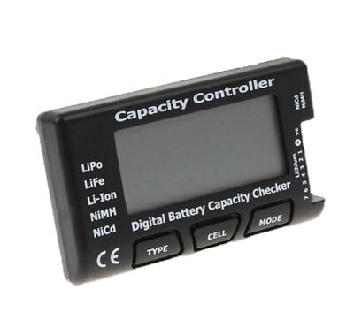 LCD Battery Capacity Voltage Checker Controller Tester for LiPo Li-ion Battery