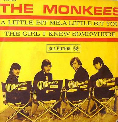 "The Monkees A Little Bit Me A Little Bit You 7"" Italy"