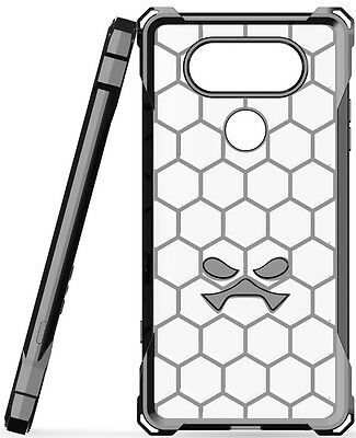 For LG V20 Case | Ghostek COVERT Slim Clear Silicone Shockproof Protective Cover