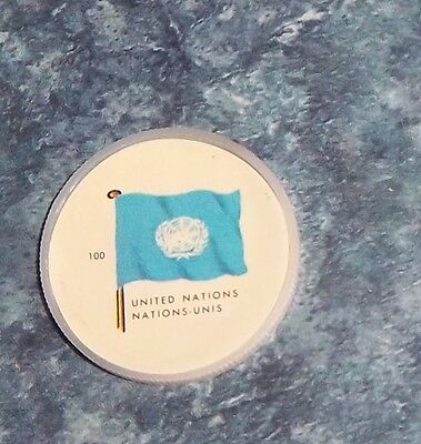 General Mills Coins Flags # 100 United Nations coin
