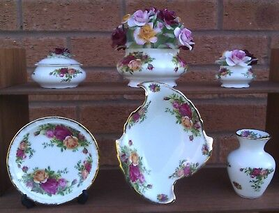 Royal Albert - Old Country Roses - Selection Of Pin  Dishes Etc