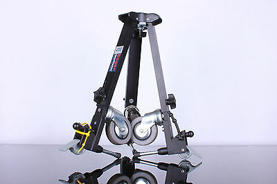 MANFROTTO 3137 Portable Basic Video Dolly for Tripods Adjustable leg spread