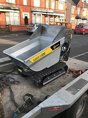Hire Power Tracked Barrow - Staffordshire/Midlands
