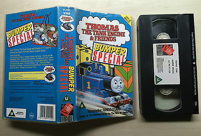 Thomas The Tank Engine And (&) Friends - Bumper Special - Vhs Video