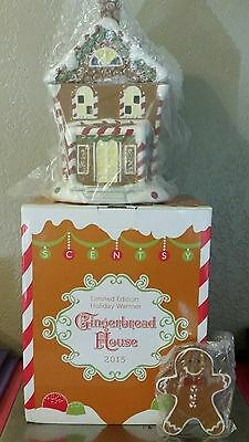 Scentsy Gingerbread House Christmas Warmer, Limited Edition SHIPS FAST