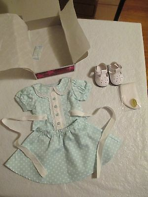 American Girl Molly Polka Dot Outfit Nib Retired