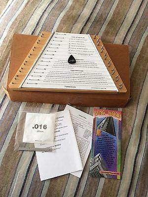 TK O'Brien's Wood Lap Harp Zither Dulcimer Plucked Psaltery w/ Music sheets