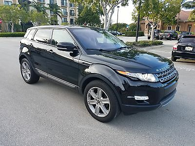 2013 Land Rover Evoque AWD 2013 LAND ROVER EVOQUE AWD BLACK/BLACK ,1 OWNER,CAMERA,LEATHER,PANORAMA SUNROOF