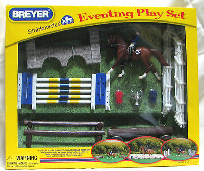 Breyer Stablemate Eventing Play Set #5360