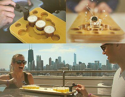 Mini Beer Pong Drinking Game Set Shot Bring The Party Anywhere Portable Free Shi