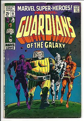 Marvel Super-Heroes # 18 (Guardians Of The Galaxy, Jan 1969), Fn