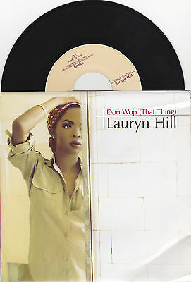 "Lauryn Hill - Doo Wop (That Thing) / Lost Ones (Remix) - US 7"" Vinyl 45 - New"