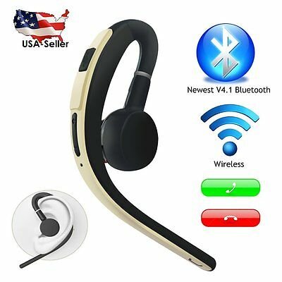 Wireless Stereo Earphone 4.1 Bluetooth Headset Headphone For iPhone Samsung LG