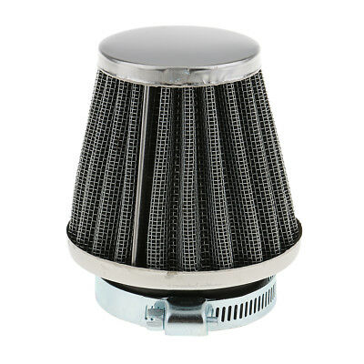 44mm Air Filter With Rubber Connector Universal for Motorcycle Filter Pods