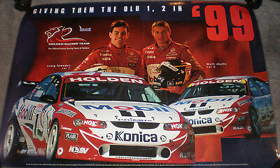 1999 Holden Racing Team Skaife / Lowndes Laminated Poster