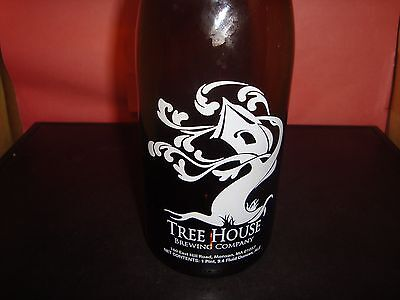 Tree House Brewing Company 750 ML Growler Munson MA EMPTY With Tags NM Condition