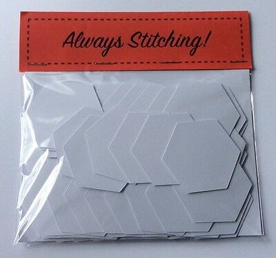 1 Inch Hexagons for English Paper Piecing (100pk)