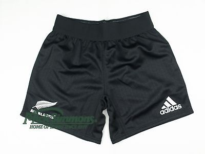 NEW All Blacks 2017 Men's Home Rugby Shorts by adidas